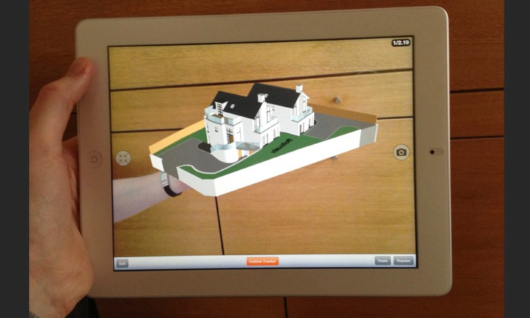 Augmented reality 3d models from visualloft